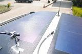 33W Photovoltaic Flexibele Modules a-Si van het Membraan met de Gemakkelijke Achter Zelfklevende Film van de Schil en van de Stok