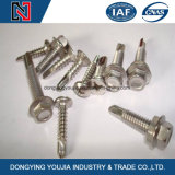 Phillips Hexagon Washer Head Self Tapping Screw with Collar