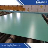 espejo de aluminio de la pintura verde de revestimiento doble de 3m m para el cuarto de baño