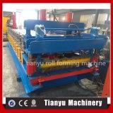 Roulis de tuile de toit d'opération en métal de machines de Tianyu formant la machine