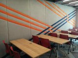 Muren van de Verdeling van Soundprooof de Beweegbare voor Bureau, de Zaal van de Vergadering, de Zaal van de Conferentie, Opleidingscentrum