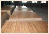 1220*2440mm (4*8) forces de défense principale de mélamine des graines de teck/chêne de 3/4/5/6mm pour des meubles