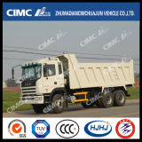 6X4 de Vrachtwagen van de Stortplaats JAC/van de Kipper met Cimc Lichaam van de Lading Huajun