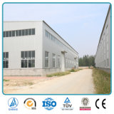 SGS keurde de Geprefabriceerde Hangaar van het Pakhuis van het Staal Industriële (goed sh-680A)