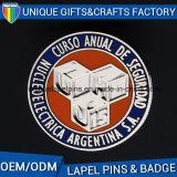 中国の工場ロゴによってカスタマイズされるエナメルのメタルピン