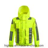 Tuta sportiva di sicurezza con ANSI107 il certificato (rivestimento della pioggia C2445)