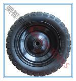 10X3.50-6 PU 거품 타이어 수레 손수레 바퀴