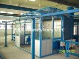 Sala de pintura por spray automático para a linha de produção do canhão de aço 55 galões