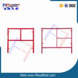 3 ' x3'1 '' Waco rotes Art-Maurer-Baugerüst-einzelnes Strichleiter-Feld
