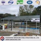 Sinoacme Estructura de acero de la luz de bajo coste de construcción de almacén