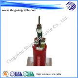 Câble d'alimentation électrique haute température