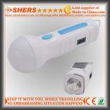 15 SMD LED antorcha solar con 1W linterna, USB (SH-1932)