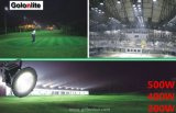 100-277V 5 anni della garanzia 500W del fuoco LED di stadio di sport sollecita 500 watt di illuminazione del LED per i campi di football americani