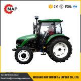 Conducir el tractor de China 80HP 90HP 100HP cuatro ruedas