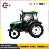 China 80HP 90HP 100HP Tractor de quatro rodas motrizes