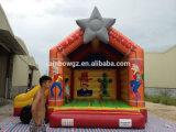 0.55 mm Belüftung-aufblasbares springendes federnd Schloss für Kinder