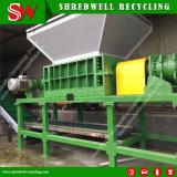 Municipleの固形廃棄物か木または金属またはプラスチックリサイクルするために機械をリサイクルする高く効率的なスクラップ