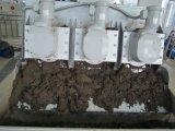 tipo máquina de secagem do parafuso da pilha 20000mg/L do tratamento da água da máquina da lama