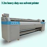 7 футов принтера Inkjet Eco двойного печатающая головка Dx5 растворяющего сделанного в Китае