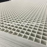 Maille moulée de fibre de verre de FRP GRP râpant à plat