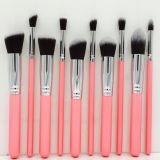 Premium Synthetic 8/10PCS Rosa (La herramienta Pincel de maquillaje Kabuki-92)