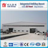 Estructura de acero de acero galvanizada de la luz del almacén de Struction y de la fabricación