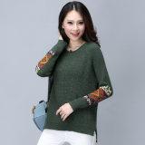 최신 여자 겨울 뜨개질을 하는 스웨터