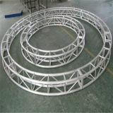 Напольная алюминиевая освещения крыши этапа согласия выставки партии СИД экрана ферменная конструкция круга Semi