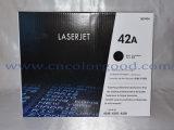Cartuccia di toner nera originale di Q5942A 42A per la stampante a laser dell'HP