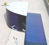 moduli flessibili un-Si della membrana fotovoltaica 33W con la pellicola adesiva posteriore facile del bastone e della buccia