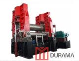 Rolamento universal da placa do rolo superior, máquina de dobra hidráulica da placa, máquina de laminação de 3 rolos, máquina de dobra enorme da placa