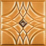 Couro 3D de China Suoya 1075-6 que cinzela a decoração da HOME do painel de parede