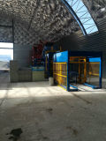 Qt12-15 het Grote Concrete Holle Blok die van de Output de Installatie van de Machine voor de Bouw van Huizen maken