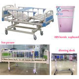 5개의 싼 가격 금속 병상 환자 자택 요양 전기 3개의 기능