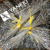 Cordage en acier inoxydable en acier inoxydable 304 avec crochet simple