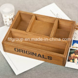 Vintage Customized Wooden Box Bandeja de madeira de Flowerpot