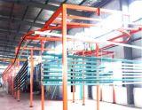 Linha de produção de revestimento em pó para perfil de alumínio