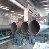 De spiraalvormige Buis van het Roestvrij staal voor het Vervoer van de Olie