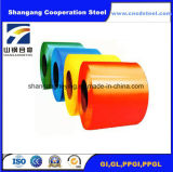 Het Materiële Vooraf geverfte Staal van Contrustion/Gegalvaniseerde Staalplaat Steel/PPGI met Zacht