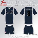 판매를 위한 Healong 중국 Deisgn 스포츠 기어 승화 숙녀 클럽 축구 세트