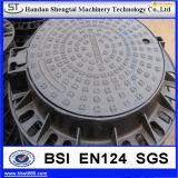 鋳鉄は延性がある鉄のHidraulicの正方形のマンホールカバークラスEn 124を単分ける
