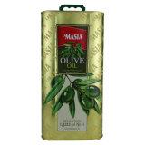 Boîte de conserve métalliques pour l'huile d'olive 5 litres (FV-051433)