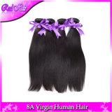 6A Unprocessed Brazilian Straight Hair Weave Bundles Light Yaki 3PC / Lot Natural Black Brazilian Virgin Hair Extensionson on Sale