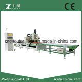 Sistema de carga e descarga Máquina CNC para trabalhar madeira