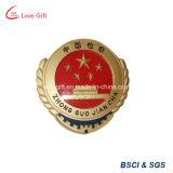 Pin personalizado de la aleación del cinc
