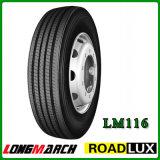 Todo o aço Lm 516 Lm518 Lm116 Lm216 295/75r22.5 295 75 pneumáticos do radial do caminhão e do barramento do tipo de Longmarch do pneu de 22.5 caminhões