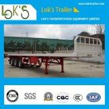 40 футов 3 мост планшет грузового прицепа