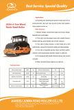 8-10 톤 중국 사람 2 바퀴 판매를 위한 정체되는 도로 쓰레기 압축 분쇄기