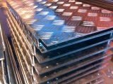 Plaat van het Blad van het Loopvlak van het aluminium de Geruite met Staaf Vijf