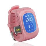 Montre multiple de traqueur des gosses GPS de langages avec le bouton de SOS (H3)